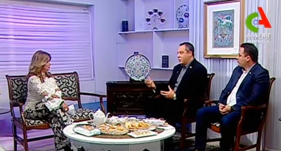 Passage de M. Ouyed et M. Kolli sur la chaîne de télévision Canal Algérie