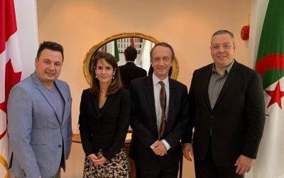 Rencontre d'information et d'échanges avec l'ambassadeur du Canada en Algérie